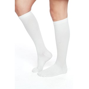 Compression Sock (2-pack) Natural White 42-44