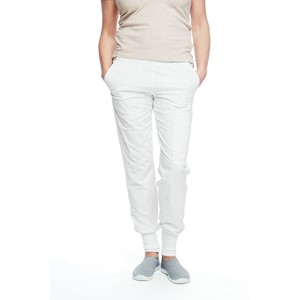 Ladies Easy Pant Natural White S