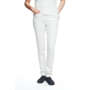 Ladies Stretch Jeans Natural White M