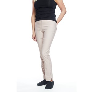 Ladies Straight Pants Dusty Pink L