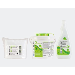Green&Clean MK box med 70 servetter + flaska