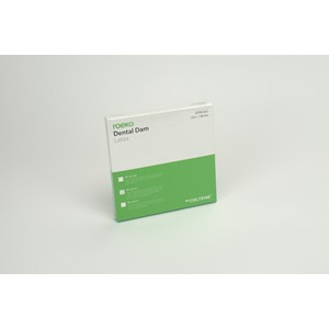 Dental Dam Latex medium  15x15cm 36st