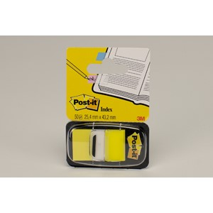 Post-It Index gul 50st