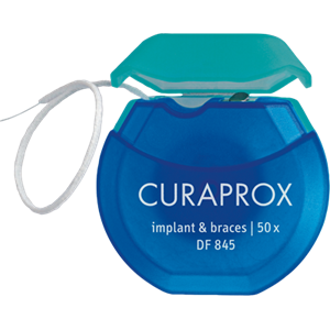 Curaprox Floss Braces & Implant  50st