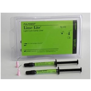 Lime-Lite calciumhydroxid 4x1,2ml+kanyler